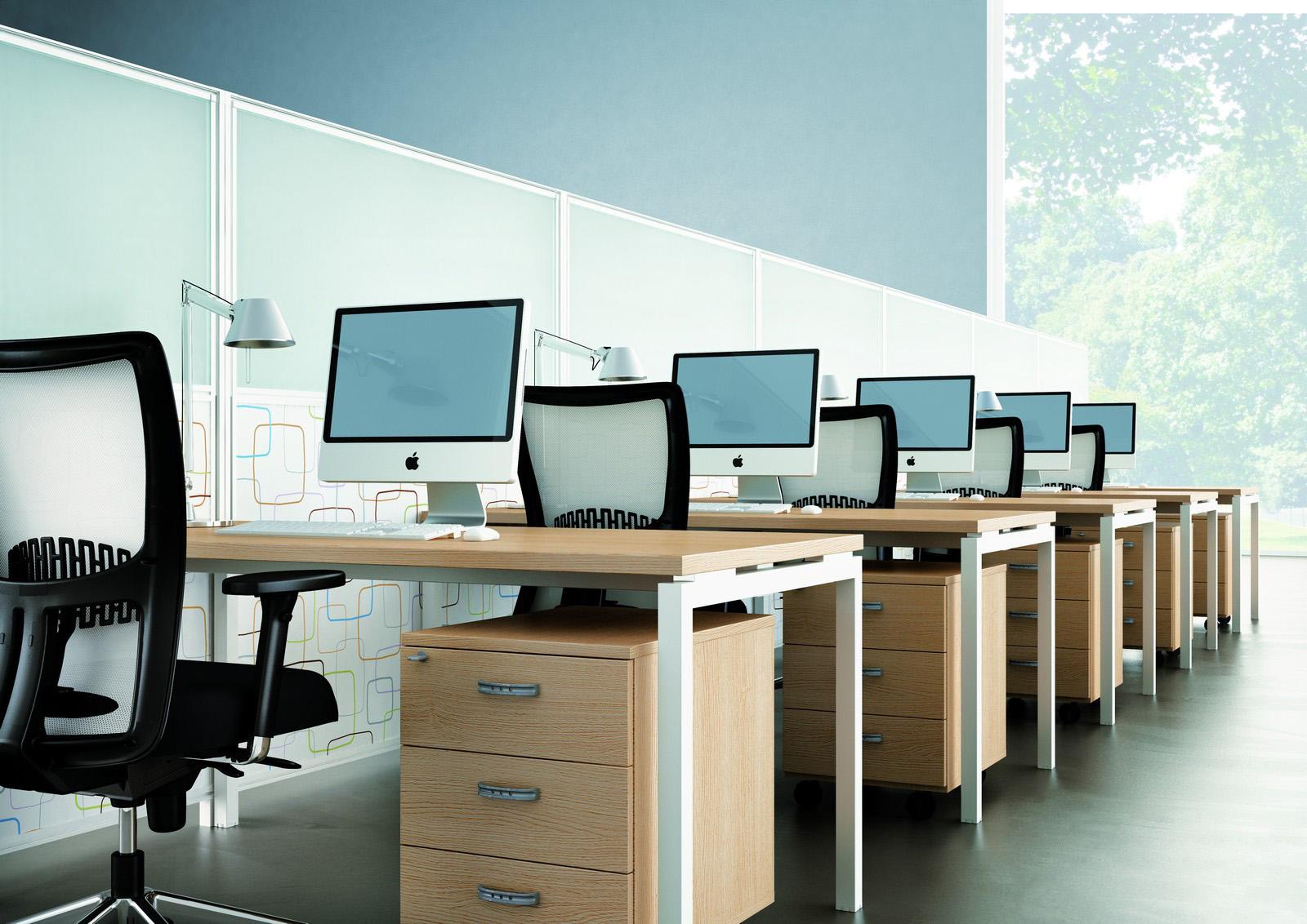 Zijn ladeblokken onder het bureau nog nodig?